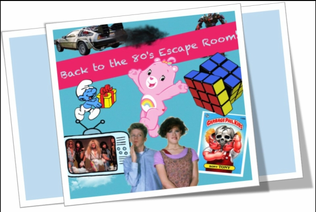 "Escape Game Back to the 80""s!, Escape Room Live. Washington."