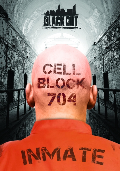 Escape Game Cell Block 704, Black Out. Charlotte.