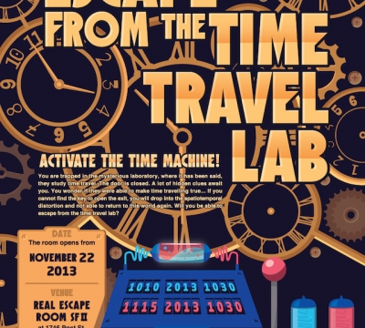 Escape from the Time Travel Lab