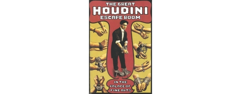 Escape Game Houdini Room, The Great Houdini Escape Room. San Francisco.