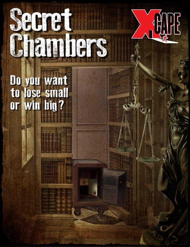 Escape Game Secret Chambers, Xcape Vancouver. Richmond.