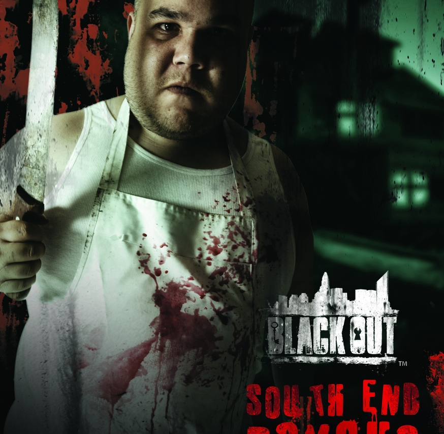 Escape Game South End Psycho, Black Out. Charlotte.