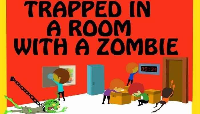 Escape Game Trapped in a Room with a Zombie, Room Escape Atlanta. Atlanta.